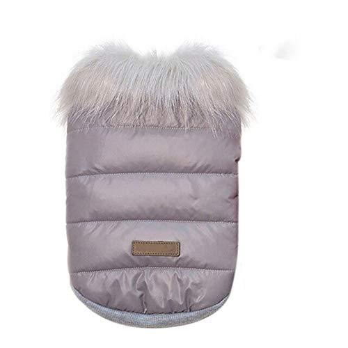 Dog Coats & Jackets - Winter Pet Dog Cloth Warm Jacket Waterproof Coat S Hoody Chihuahua Medium Puppy - Rainproof Wintertime Tight Wintry Raincoat - 1PCs