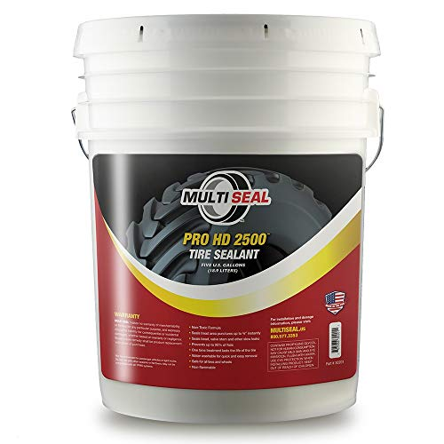 MULTI SEAL PRO HD 2500 - Our Workhorse Industrial Grade Tire Sealant Designed for Heavy Industrial and Agricultural Use, 5-Gallon - Sealant Tire Liquid