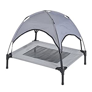 Amazon.com : Dog Bed Elevated Big Beds Foldable Outdoor