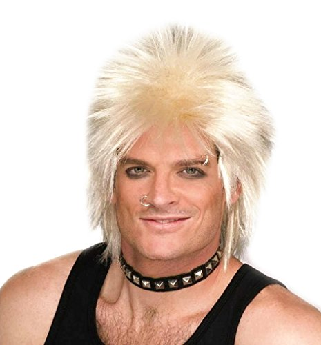 Forum Novelties Party 80's Rock Idol Wig, - Dress Idol