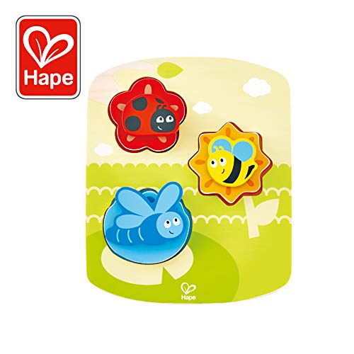 Hape Dynamic Insect Puzzle Game, Multicolor, 6.69'' x 8.19'' ()