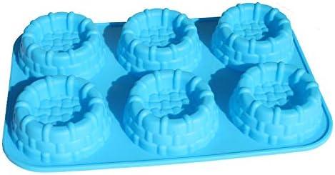 Shortcake Baskets Cake Pie Pan Cupcake Muffin Jello Soap Silicone Mold Bakeware Tray