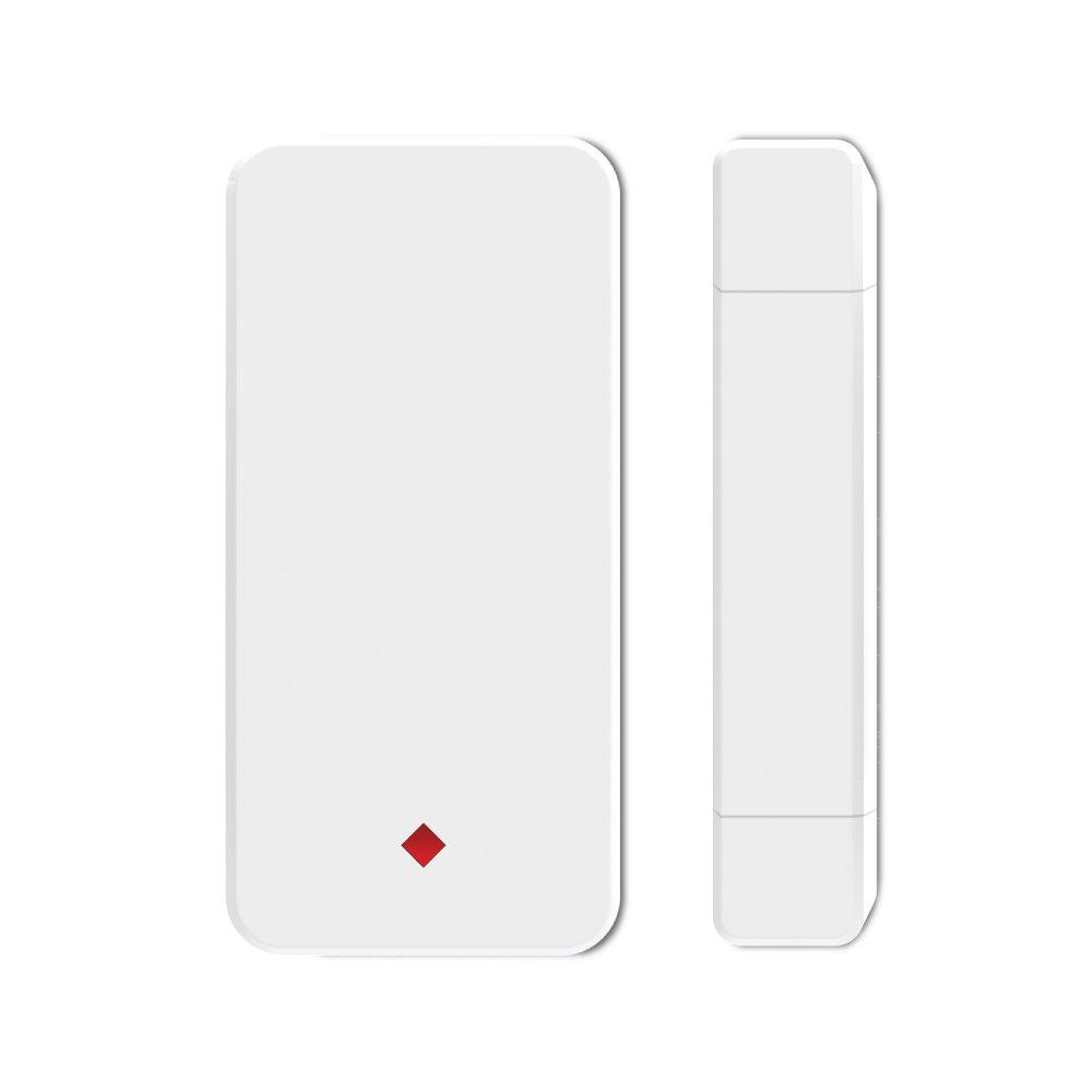 Wireless Door Sensor &Window sensor &Cabinet Contact Sensor, DIY Home&Business Security Door Magnetism Sensor, Anti-Thief, CS01, White