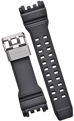 Casio 10477904 Genuine Factory Replacement Resin/Carbon Fiber Band Fits GPW-1000-1B