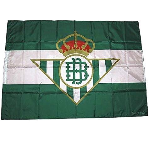 Desconocido Bandera Real Betis Balompié 140x100cm: Amazon.es: Deportes y aire libre