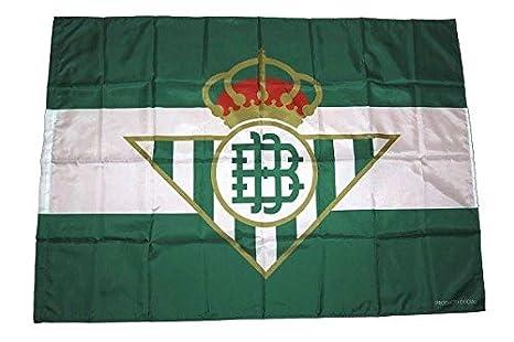 Desconocido Bandera Real Betis Balompié 140x100cm: Amazon.es ...