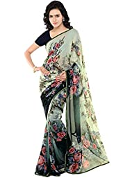 Kalaa Varsha Women's Faux Georgette Saree