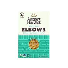 Ancient Harvest Quinoa Organic Pasta Gluten Free, Elbows, 226 g. Boxes (Pack of 12)
