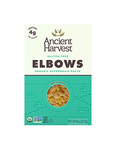 Ancient Harvest Organic Gluten Free Supergrain Pasta, Elbows (Box), 8 Ounce