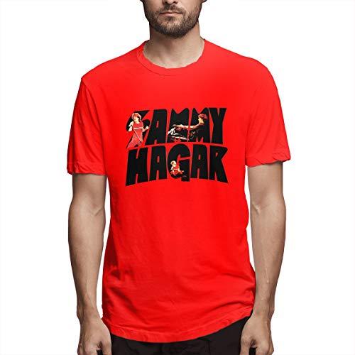 Troom Hagar Sammy Van-Halen Mens Sport T-Shirt XXL Red