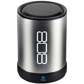 808 CANZ Bluetooth Wireless Speaker - Silver