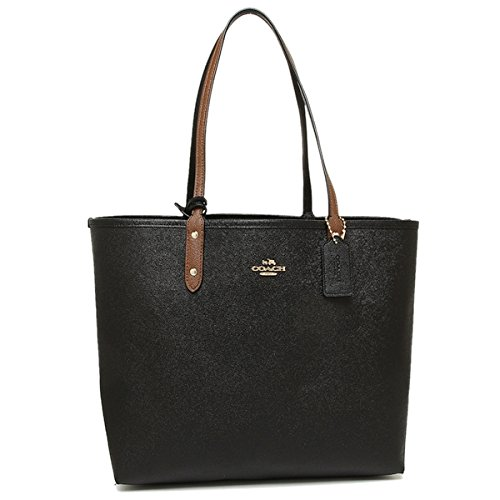 Signature City Coach Natural Reversible Tote PVC F36609 qIqPAwtB