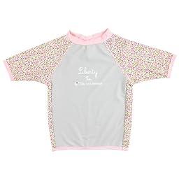 Sun Protective UV T-Shirt for Baby-Girls - Liberty Girl - Little Scherrer
