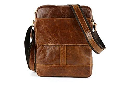 Men's Genuine Leather Authentic kangaroo kingdom Shoulder Bag Messenger Bags