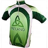 Men's Irish Cycling Jersey, Green