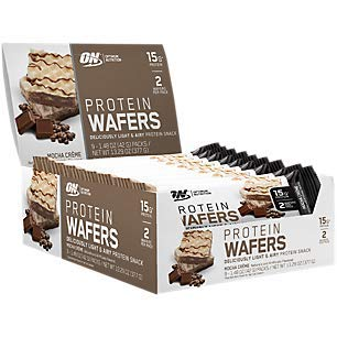 Protein Wafers Mocha Creme (9 Packs)
