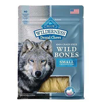 BLUE BUFFALO ★ WILDERNESS GRAIN FREE WILD BONES ★ DENTAL CHEWS ★ ALL SIZES ★ USA (SMALL)