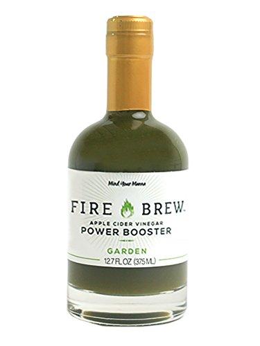 Fire Brew Garden Apple Cider Vinegar-Based Health Tonic, 12.7 OZ (25 shots per bottle) (1 bottle)