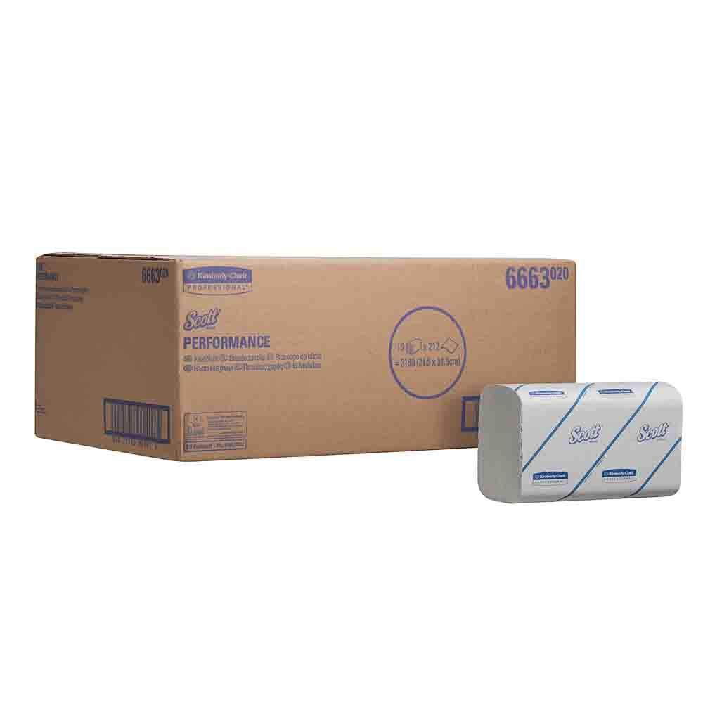umweltfreundliches Papier AIRFLEX* Wei/ß 1x Einmalhandt/ücher Kimberly-Clark Professional* Interfold-Falzung Papierhandt/ücher 21,5 x 31,5 cm 1-lagig Breite x H/öhe