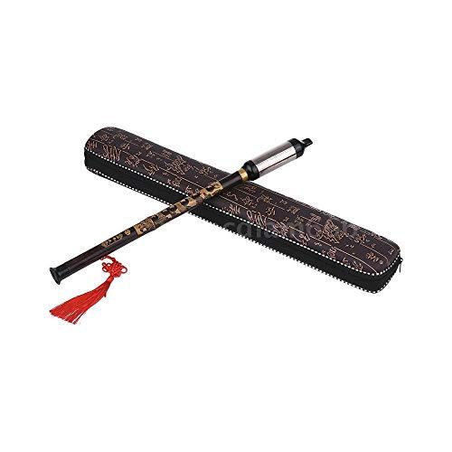 Instrument Music Chinese (FidgetFidget G Key Flute Bawu Pipe Tune Chinese Ethnic Music Instrument Black Bamboo Hot W5Q4)