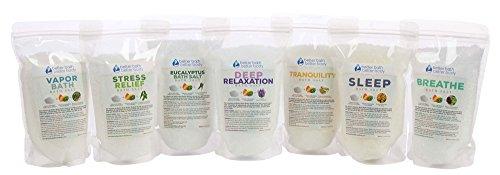 7 Pack Relaxation Bath Salt Sampler product image