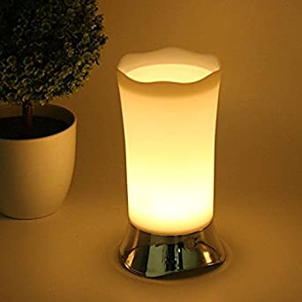 Battery Operated Lamps, Cordless LED Mini Lamp With Motion Sensor, Small  Night Light For