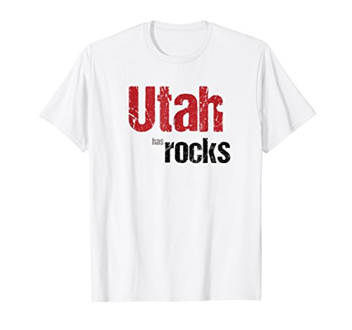 Fun Utah has Rocks T-Shirt. National Parks Family Shirt.