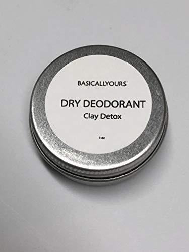 DELUXE ARMPIT DEODORANT DETOX - Underarms Clay - Cleanse