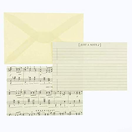NT1155MB Graphique Vintage Musical Flat Notes