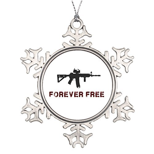 hanjear59 Ideas for Decorating Christmas Trees Forever Free Western Snowflake Ornaments Tree Decor Libertarian