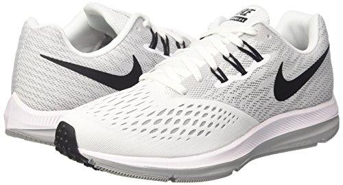 Donna Bianco gris 4 Wmns Winflo Loup Nike Zoom Running blanc noir Scarpe wYCq04xn
