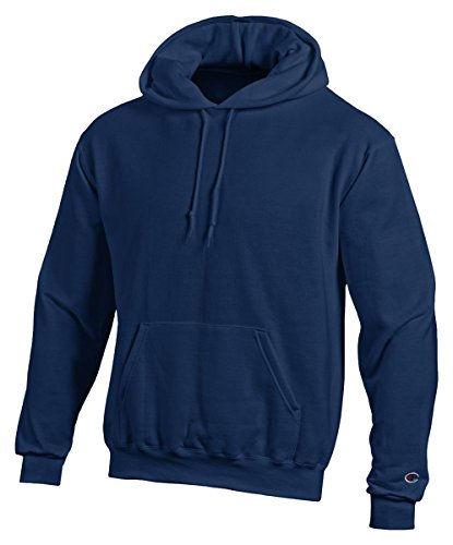 Champion Eco 9 oz. Pullover Hood, XL, NAVY