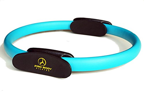 Pilates Ring – Superior Unbreakable Fitness Magic Circle For Toning Thighs, Abs and Legs – DiZiSports Store