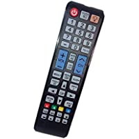 Replaced Remote Control Compatible for Samsung UN32EH5000FXZA UN39FH5000F PN51F4500AF UN55EH6000FXZA UN48H4005AFXZA LED HDTV PLASMA TV