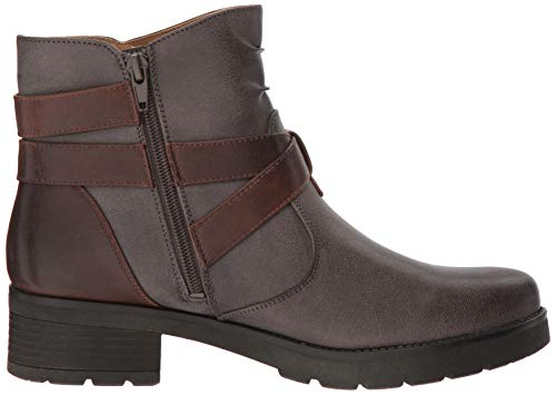 NATURAL SOUL Grey Women's Boot Quincy Ankle waHwqF