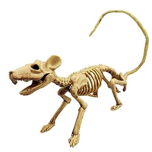 Halloween Rat Skeleton Prop Perfect Halloween Decoratie Voor Partijen of Accessoire Voor Kostuums Plastic Animal…