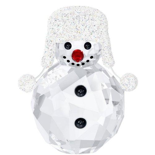 - Swarovski Crystal Christmas Figurine SNOWMAN #5004516