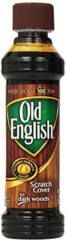 Old English Scratch Cover For Dark Woods, 8 fl oz Bottle, Wood Polish (Pack of 2) - Cherry Wood Finish Bed