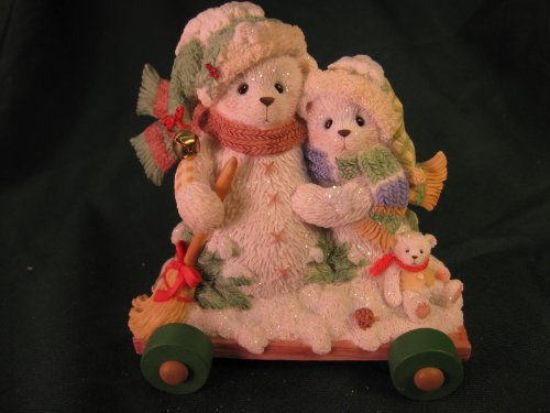 Cherished Teddies.......... Ursula and Bernhard... In The Winter We Can Build A Snowman