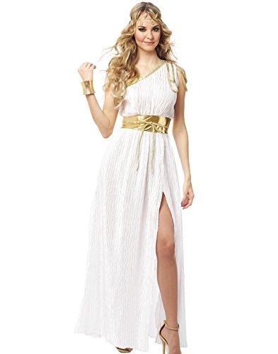 Aphrodite Goddess Costume (Grecian Beauty Adult Costume - Small)