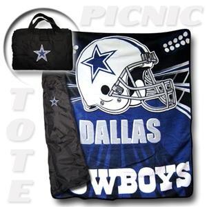 Nfl Bedrest Pillow - NFL Dallas Cowboy Tote Along