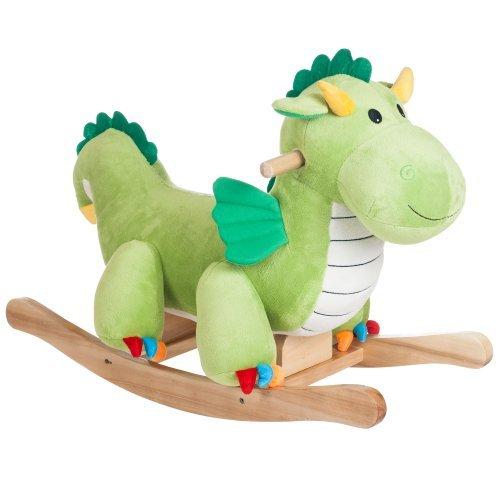 Happy Trails Rocking Dagwood Dragon Ride On by Happy Trails