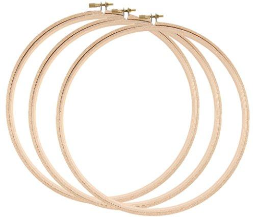 embroidery hoops darice wood - 6