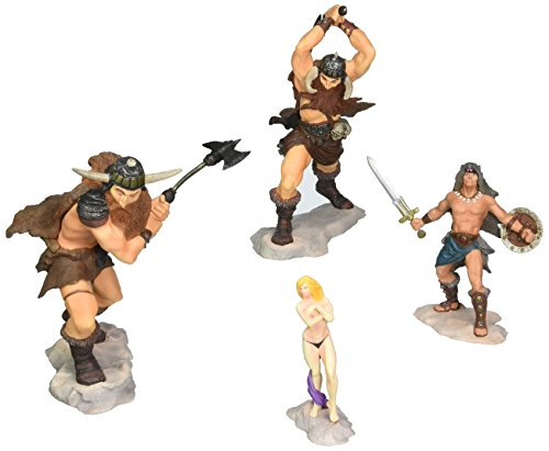 Conan The Frost Giant's Daughter PVC Set