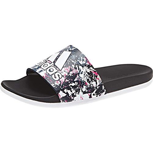 Adilette 000 Playa Comfort Para Y negbás Piscina Mujer ftwbla Zapatos ftwbla Adidas Blanco De 1qgw1O