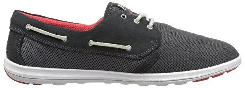 Helly Hansen Mens Lillesand Deck Shoe Ebano / Antracite / Grigio Medio