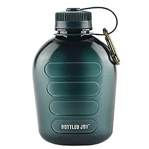 Amazon.com: Botella de agua militar para cantinas, de ...