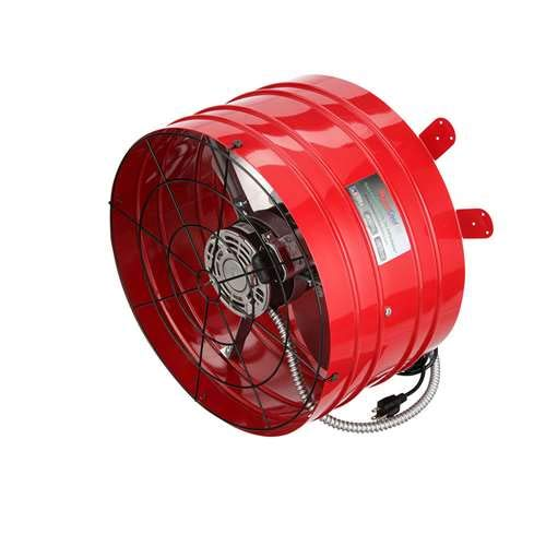 (QuietCool AFG PRO-3.0 Attic Gable Fan Model)