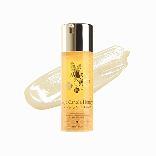 Korean Skin Care – The YEON Jeju Canola Honey Wrapping Multi Cream 100 ml Net wt. 3.38 oz – Intensely moisturizing