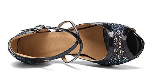 TDA - Zapatos con tacón mujer 7cm Black